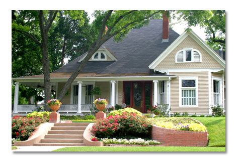 Residential Home with Insurance